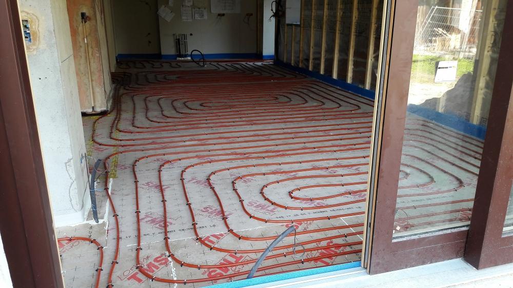 installation plancher chauffant bonnevaux evian les bain morzine. Black Bedroom Furniture Sets. Home Design Ideas
